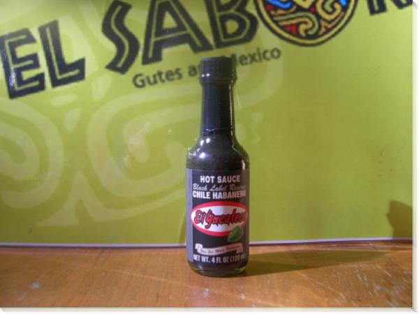 Salsa Habanero Black Label Reserve El Yucateco 120 ml